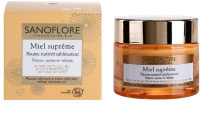 Sanoflore Miel Supreme Visage balsam hranitor uscata si foarte uscata 2
