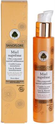 Sanoflore Miel Supreme Visage vyživující sérum pro rozjasnění a vyhlazení pleti 1
