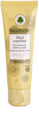 Sanoflore Miel Supreme Corps intensive Creme für Hände