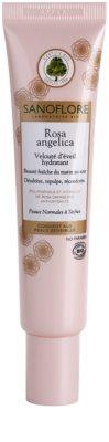 Sanoflore Rosa Angelica crema hidratante iluminadora para pieles normales y secas