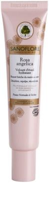 Sanoflore Rosa Angelica rozświetlający krem nawilżający do skóry normalnej i suchej