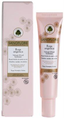 Sanoflore Rosa Angelica crema hidratante iluminadora para pieles normales y secas 1