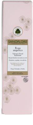 Sanoflore Rosa Angelica Creme hidratante iluminador para pele normal a seca 3