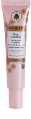 Sanoflore Rosa Angelica crema hidratanta cu efect iluminator pentru piele normala si mixta