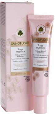 Sanoflore Rosa Angelica rozświetlający krem nawilżający do cery normalnej i mieszanej 2