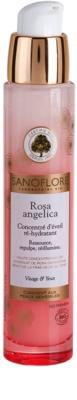Sanoflore Rosa Angelica освітлююча зволожуюча сироватка для обличчя та очей
