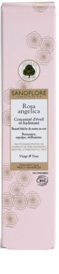 Sanoflore Rosa Angelica освітлююча зволожуюча сироватка для обличчя та очей 3