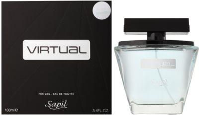 Sapil Virtual eau de toilette férfiaknak