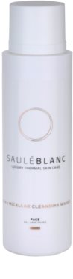 Saulé Blanc Face Care Міцелярна очищуюча вода 3в1