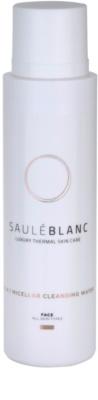 Saulé Blanc Face Care água micelar de limpeza 3 em 1