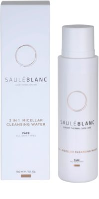 Saulé Blanc Face Care Mizellar-Reinigungswasser 3in1 1