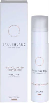 Saulé Blanc Face Care crema facial hidratante con agua termal 2