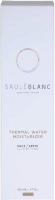 Saulé Blanc Face Care crema facial hidratante con agua termal 4