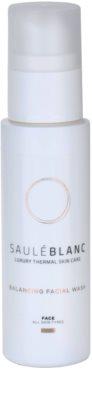 Saulé Blanc Face Care gel de curatare calmant pentru toate tipurile de ten