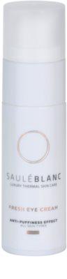 Saulé Blanc Face Care crema iluminadora para contorno de ojos antibolsas y antiojeras