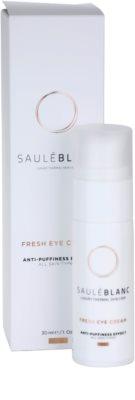 Saulé Blanc Face Care aufhellende Crem für die Augenpartien gegen Schwellungen und Augenringe 3
