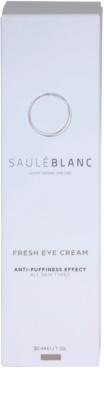 Saulé Blanc Face Care aufhellende Crem für die Augenpartien gegen Schwellungen und Augenringe 4
