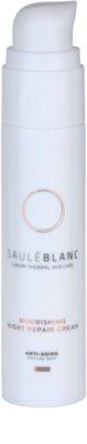 Saulé Blanc Face Care creme de noite intensivo regenerador para pele madura 1