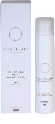 Saulé Blanc Face Care nočna intenzivna regeneracijska krema za zrelo kožo 2