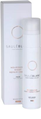Saulé Blanc Face Care nočna intenzivna regeneracijska krema za zrelo kožo 3