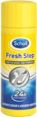 Scholl Fresh Step pó para pé e calçado contra odor e transpiração