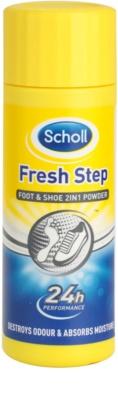 Scholl Fresh Step zásyp na nohy a do topánok proti zápachu a poteniu