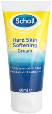 Scholl Hard Skin creme da noite para amaciar a pele dura