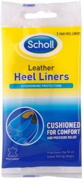Scholl Heel Liners plantillas de cuero para talones