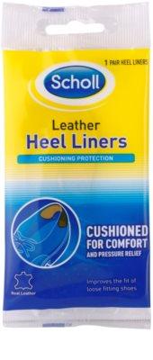 Scholl Heel Liners usnjene blazinice za čevlje