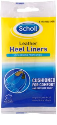 Scholl Heel Liners zapiętki skórzane do butów