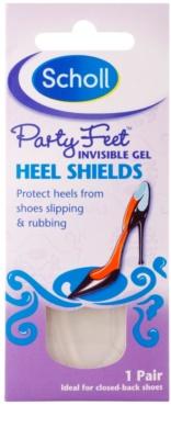 Scholl Party Feet Heel Shields pernute de gel pentru calcai