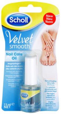 Scholl Velvet Smooth nährendes Öl für die Nägel