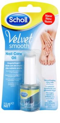 Scholl Velvet Smooth óleo nutritivo de unhas
