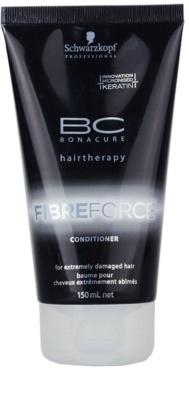 Schwarzkopf Professional BC Bonacure Fibreforce kondicionáló a nagyon károsult hajra