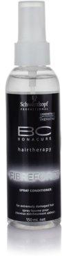 Schwarzkopf Professional BC Bonacure Fibreforce ausspülfreier Conditioner im Spray Für extrem strapaziertes Haar