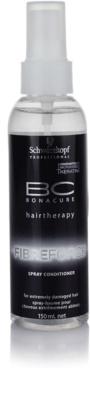 Schwarzkopf Professional BC Bonacure Fibreforce öblítést nem igénylő spray kondicionáló a nagyon károsult hajra
