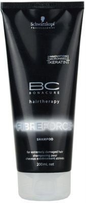Schwarzkopf Professional BC Bonacure Fibreforce sampon pentru par foarte deteriorat