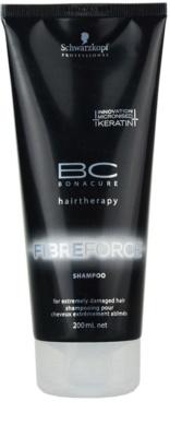 Schwarzkopf Professional BC Bonacure Fibreforce šampon pro extrémně poškozené vlasy