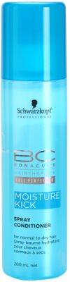 Schwarzkopf Professional BC Bonacure Moisture Kick balzam v pršilu za normalne do suhe lase