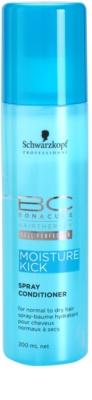 Schwarzkopf Professional BC Bonacure Moisture Kick Conditioner im Spray Für normales bis trockenes Haar
