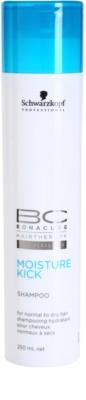 Schwarzkopf Professional BC Bonacure Moisture Kick зволожуючий шампунь для нормального та сухого волосся