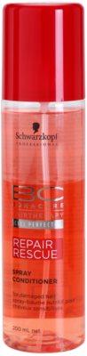 Schwarzkopf Professional BC Bonacure Repair Rescue conditioner spray pentru regenerare pentru par deteriorat