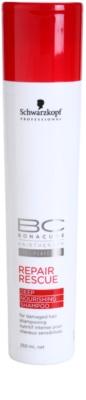 Schwarzkopf Professional BC Bonacure Repair Rescue regenerační šampon pro poškozené vlasy