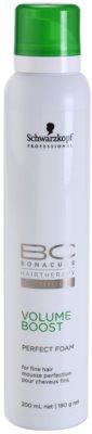 Schwarzkopf Professional BC Bonacure Volume Boost zdokonalující pěna pro jemné vlasy