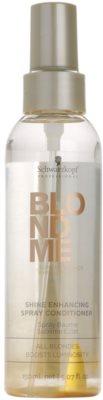 Schwarzkopf Professional Blondme acondicionador en spray sin enjuague para un brillo deslumbrante 1