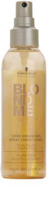 Schwarzkopf Professional Blondme bezoplachový kondicionér ve spreji pro zářivý lesk 2