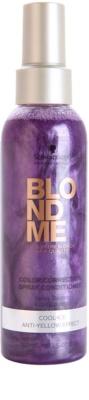 Schwarzkopf Professional Blondme öblítést nem igénylő spray kondicionáló a szőke hideg árnyalataiért