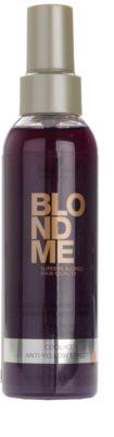 Schwarzkopf Professional Blondme балсам в спрей без отмиване за студени руси нюанси 1