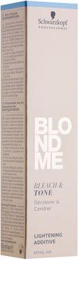 Schwarzkopf Professional Blondme hamvasító és tonizáló adalékanyag 2