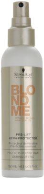 Schwarzkopf Professional Blondme spray de proteção para aclarar cabelo 1